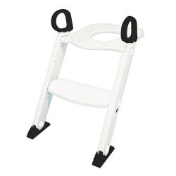 BabyDan Toilettræner med trappe - Hvid