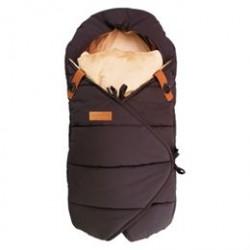 Babynor by Sleepbag kørepose - Frida - Mini - Sort/brun