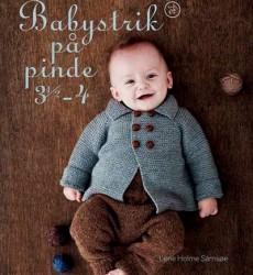 Babystrik På Pinde 3,5-4 Af Lene Holme Samsøe