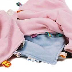 Babytæppe eller nusseklud fra Babytech - Orange