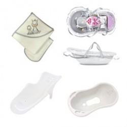 BabyTrold badesæt i bæretaske - Grå