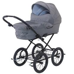 BabyTrold barnevogn - Cozy - Grå