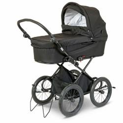 BabyTrold barnevogn - X-Cellent - Sort