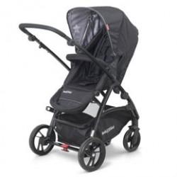 BabyTrold klapvogn - Mini Star - Sort