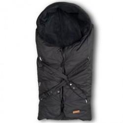 BabyTrold kørepose - Lux med dundyne - Sort