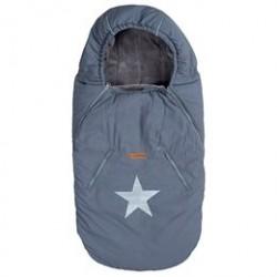BabyTrold kørepose - Star - Grå