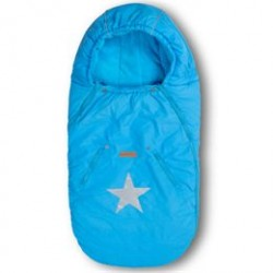 BabyTrold kørepose - Star - Turkis