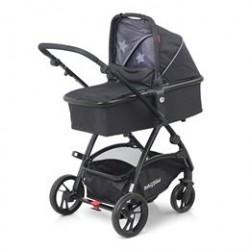 BabyTrold kombivogn - Mini - Sort