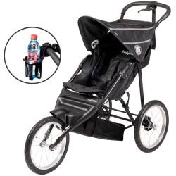 BabyTrold løbevogn inkl. kopholder - Jogger - Sort