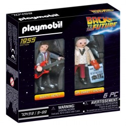 Back to the Future samlefigur Dr. Emmett Brown - PL70459 - PLAYMOBIL Back to the future
