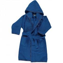 Badekåbe fra Småfolk - Ensfarvet - Blå