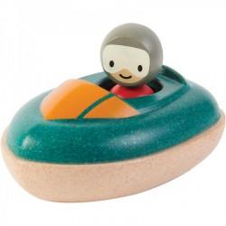 Badelegetøj fra Plantoys - Speedbåd - Bæredygtigt legetøj