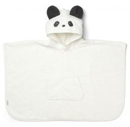Badeponcho fra Liewood - Panda