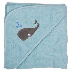 Badeslag fra Pippi - Soft Blue med hval