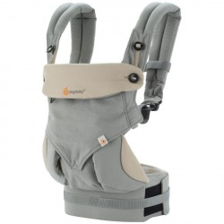 Bæresele fra Ergobaby - Four Position 360 - Grey/Taupe