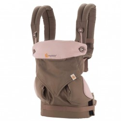 Bæresele fra Ergobaby - Four Position 360 - Taupe & Lilac