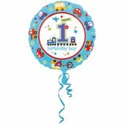 Ballon - Folie - 1st Birthday Boy (43cm)
