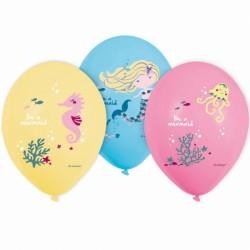 Balloner - Be a Mermaid (6 stk)