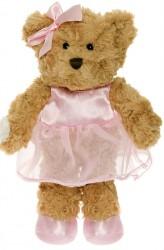Bamse fra Teddykompaniet - Frida - Brun (28 cm)