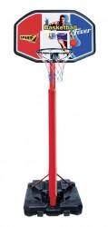 Basketball Kurv ''Slam Dunk'' 140/220 cm mobil på stander