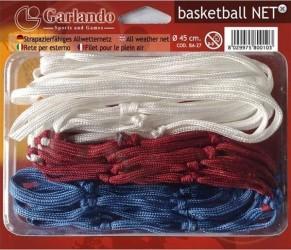 Basketball net - løst hvidt