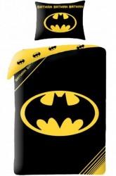 Batman 2i1 Sengetøj v2 - 100 procent bomuld
