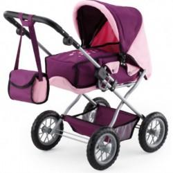 Bayer Combi Grande dukkevogn Lilla pink