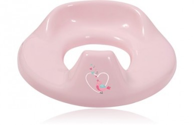 Bébé-Jou toiletsæde - Sweet Birds - Baby Pink