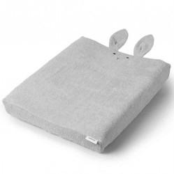 Betræk til puslepude fra Liewood - Egon - Rabbit Dumbo Grey