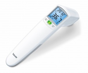 Beurer kontaktfrit termometer med LED signal