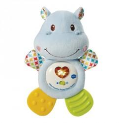 Bidedyr med lys og lyd fra VTech - Little Friendlies Happy Hippo Teether