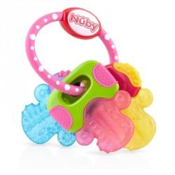 Bidering fra Nuby - Icy Bites Keys - Pink