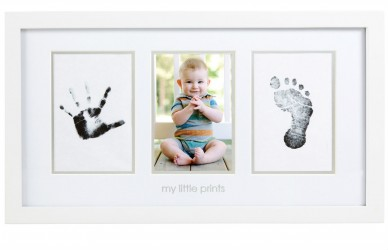 Billedramme fra Pearhead - Clean-Touch - Babyprints Photo Frame