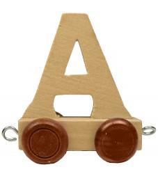 Bino Toys Navnetog - Træ - 5 cm - A
