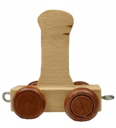 Bino Toys Navnetog - Træ - 5 cm - I