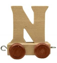 Bino Toys Navnetog - Træ - 5 cm - N