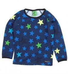 Blå Stjerne Bluse Fra Villervalla