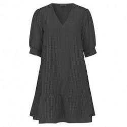 BLACK COMBI LR-IBEN DRESS 100285 fra Levete Room