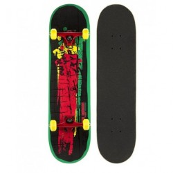 Black Dragon RASTA Skateboard