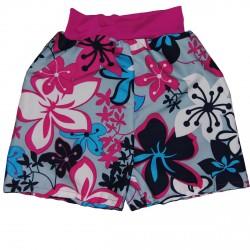 Ble badeshorts fra Splash About - Større børn - Pink Floral