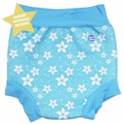 Blebadebukser fra Splash About - Classic - Blue Blossom