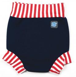 Blebadebukser fra Splash About - Classic - Navy/Red/White