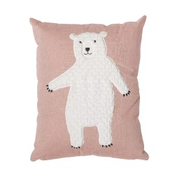Bloomingville Pude med bamse - Rosa