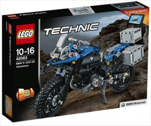 BMW R 1200 GS Adventure - 42063 - LEGO Technic