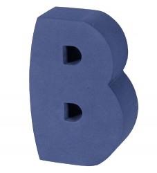 bObles Bogstav - B - Mørk Blå