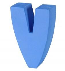 bObles Bogstav - V - Blå