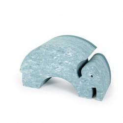bObles Elefant Blå Marmor