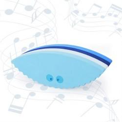 bObles Musling med lyd multi blå