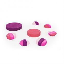 bObles Tumlesten blandede Multi Pink