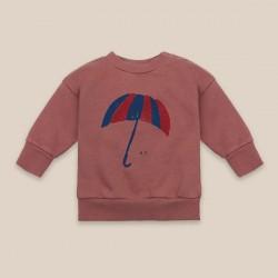 Bobo Choses Umbrella Sweatshirt Mahogany